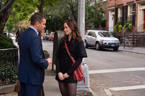 L'agence - David Norris & Elise Sellas / Matt Damon & Emily Blunt