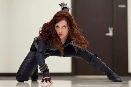 IRON MAN 2 - Natasha Romanoff alias La Veuve Noire / Scarlett Johansson