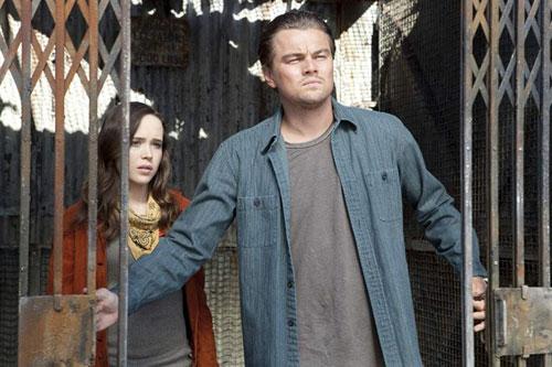 Inception - Ariane, Dom Cobb / Ellen Page, Leonardo DiCaprio