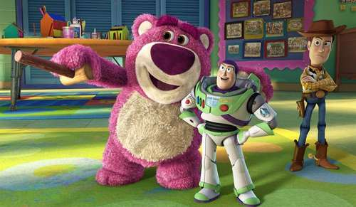 Toy Story 3 - Lotso, Buzz et Woody