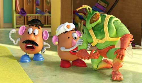 Toy Story 3 - M. & Mrs. Patate et Twitch