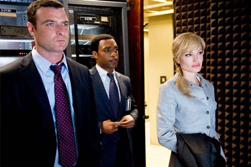 Salt - Ted Winter, William Peabody & Evelyn Salt / Liev Schreiber, Chiwetel Ejiofor & Angelina Jolie