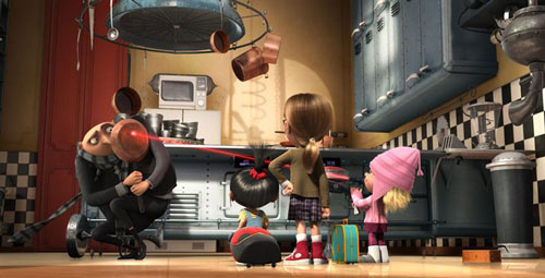 Moi moche et méchant - Gru, Margo, Edith et Agnès