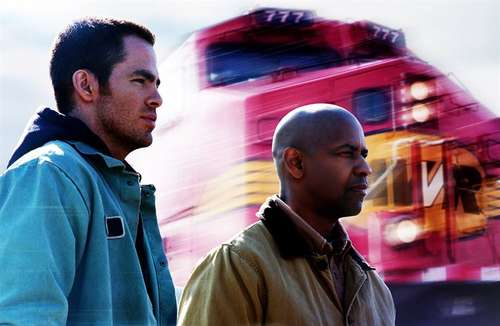Unstoppable - Will Colson et Frank Barnes / Chris Pine et Denzel Washington