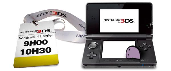 3DS au Carrousel du Louvre