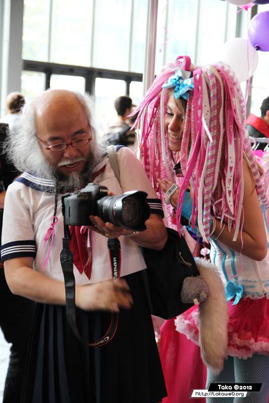 Japan Expo 2012 - Mélange des cultures...