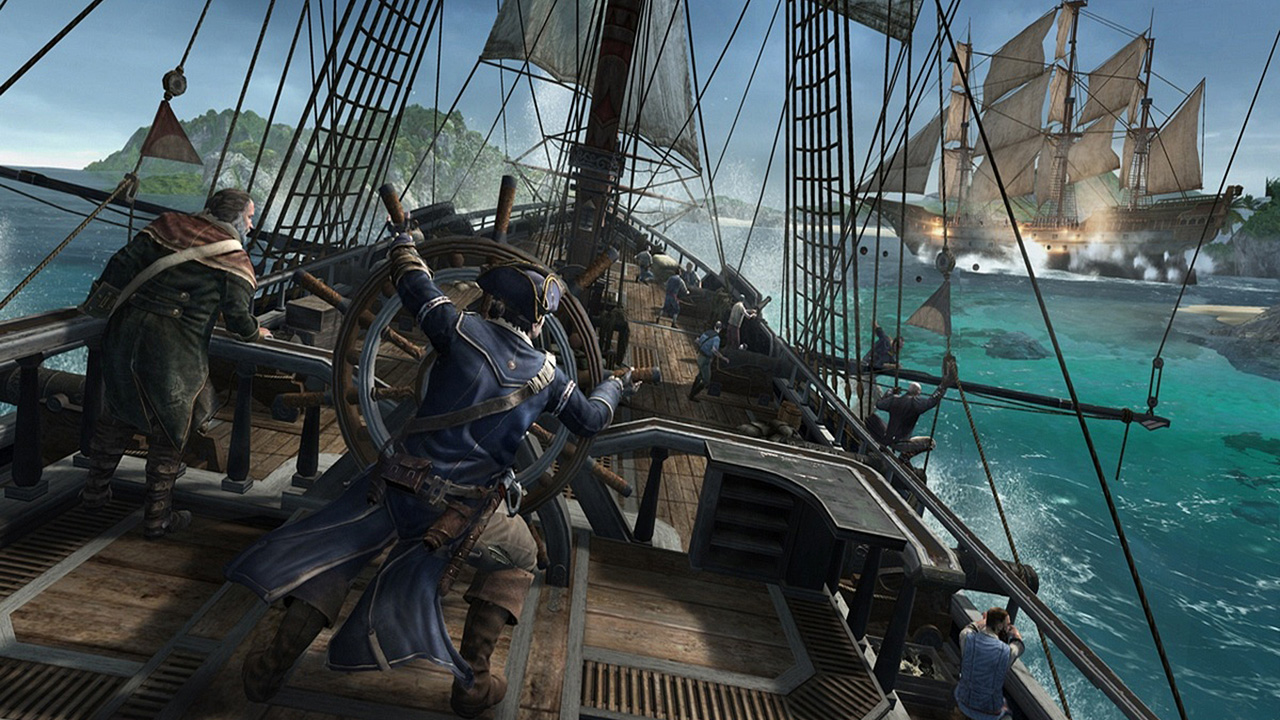 Assassin's Creed III - Bataille Navale