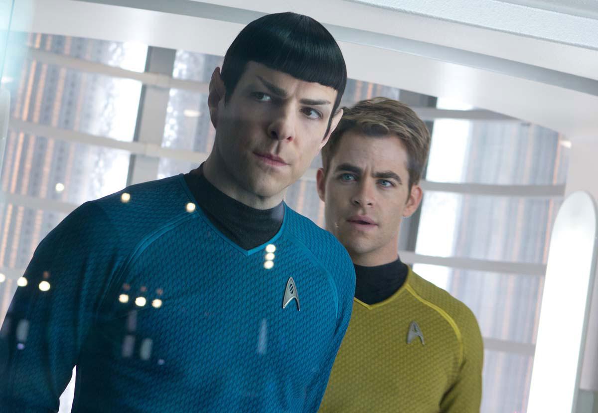 Star Trek Into Darkness - Zachary Quinto & Chris Pine / Spock & Capitaine James Tiberius Kirk