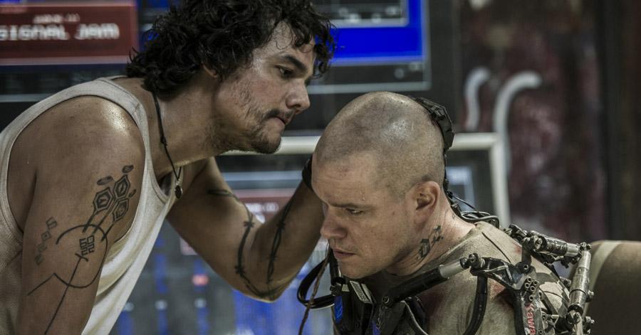 Elysium - Spider & Max / Wagner Moura & Matt Damon