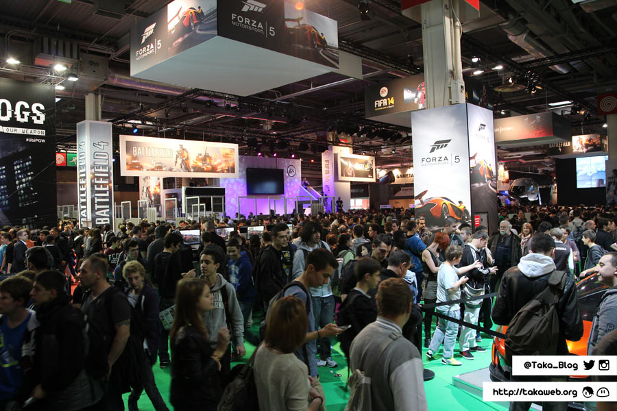 Paris Games Week 2013 - Point chaud
