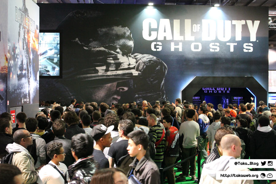 Paris Games Week 2013 - Call of Duty Ghosts & Battlefield 4