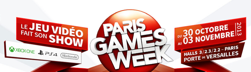 Paris Games Week 2013 - Header