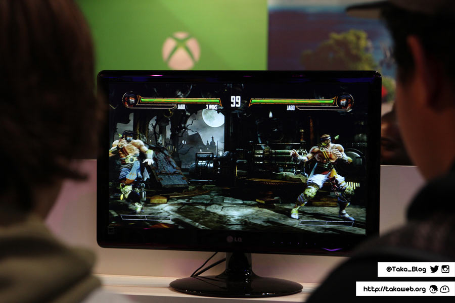 Paris Games Week 2013 - Killer Instinct / Xbox One