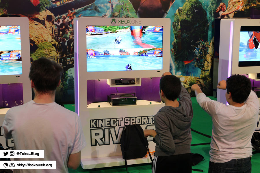 Paris Games Week 2013 - Kinect Sports Rivals / Xbox One