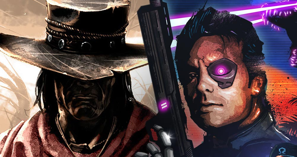 QTE/10 - Call of Juarez Gunslinger / Far Cry 3 Blood Dragon - Header