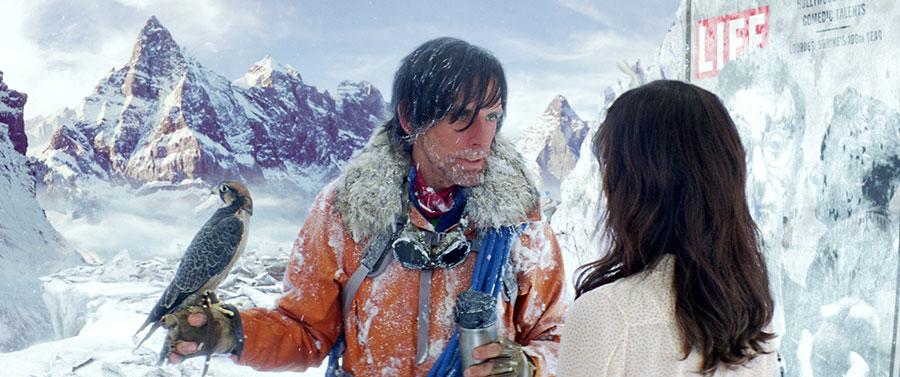 La vie rêvée de Walter Mitty - Walter Mitty & Cheryl / Ben Stiller & Kristen Wiig