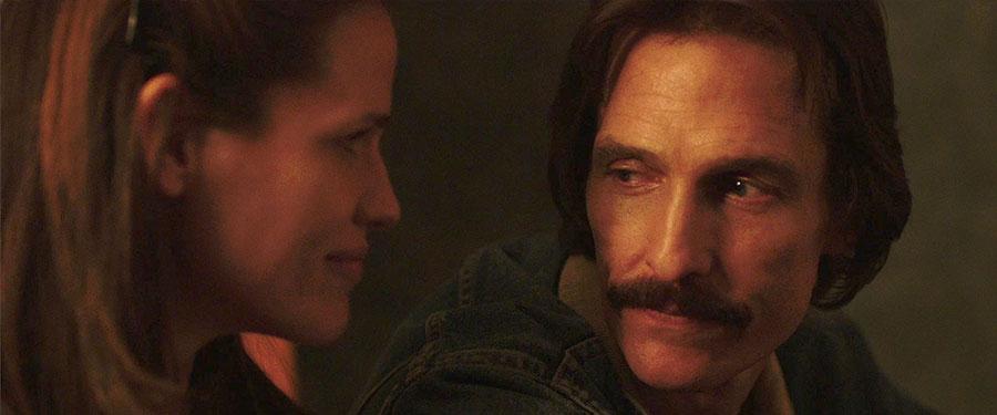 Dallas Buyers Club - Dr. Eve Saks & Ron Woodroof / Jennifer Garner & Matthew McConaughey