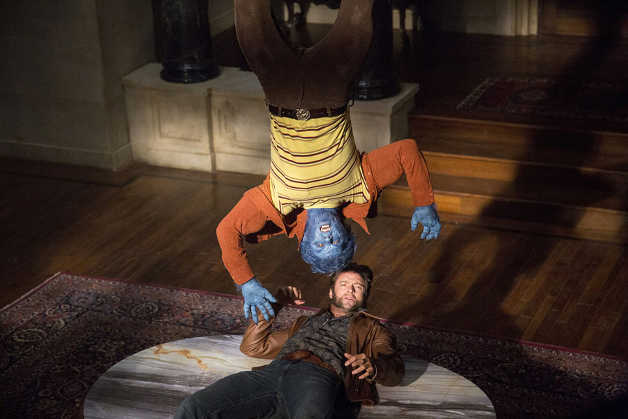 X-Men Days of Future Past - Beast & Logan / Nicholas Hoult & Hugh Jackman
