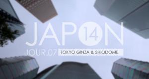 Japon 2014 / Jour 07 . Tokyo Ginza & Shiodome - Header