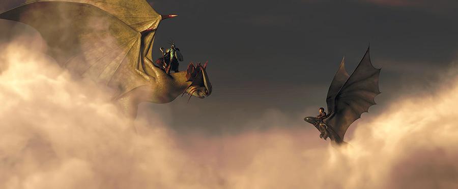 Dragons 2 - Valka & Harold / Cate Blanchette & Jay Baruchel