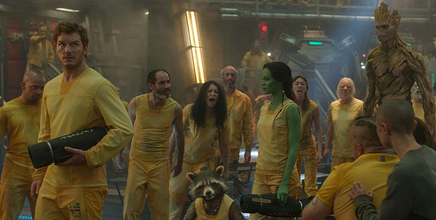 Les Gardiens de la Galaxie - Peter Quill aka Star-Lord, Rocket Raccoon, Gamora & Groot / Chris Pratt, Bradley Cooper, Zoe Saldana & Vin Diesel