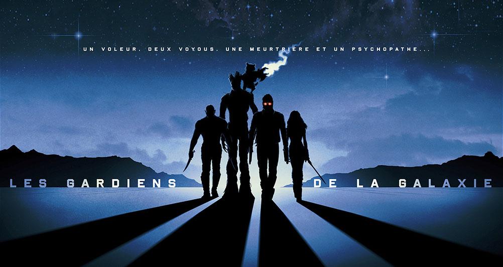 Les Gardiens de la Galaxie - Header
