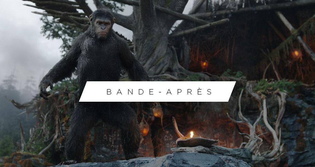 La Planète des singes : l'affrontement - Header