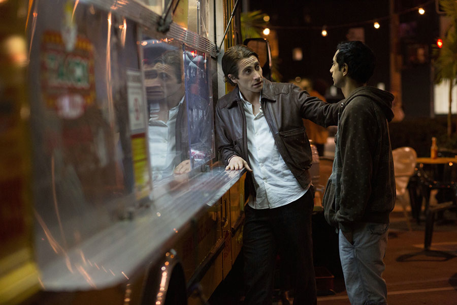 Night Call / Nightcrawler - Lou Bloom & Rick / Jack Gyllenhaal & Riz Ahmed
