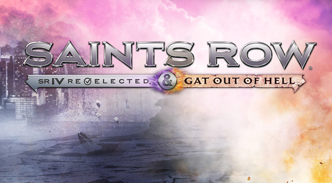 Saints Row 4 Re-elected & Gat Out of Hell - Header