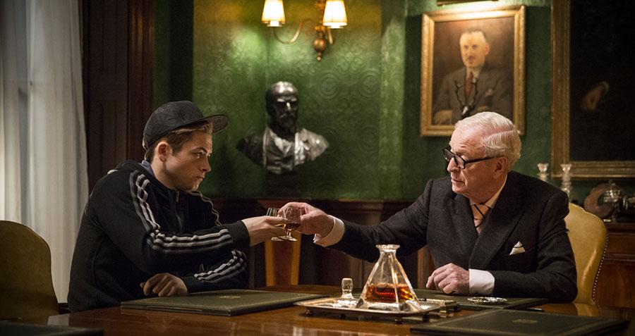 Kingsman Services Secrets - Gary 'Eggsy' Unwin & Arthur / Taron Egerton & Micheal Caine