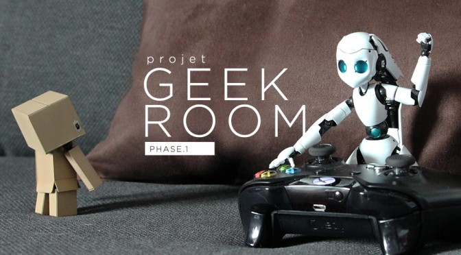 Projet Geek Room Phase 1 - Header
