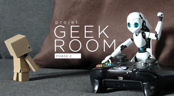 Projet Geek Room Phase 2 - Header