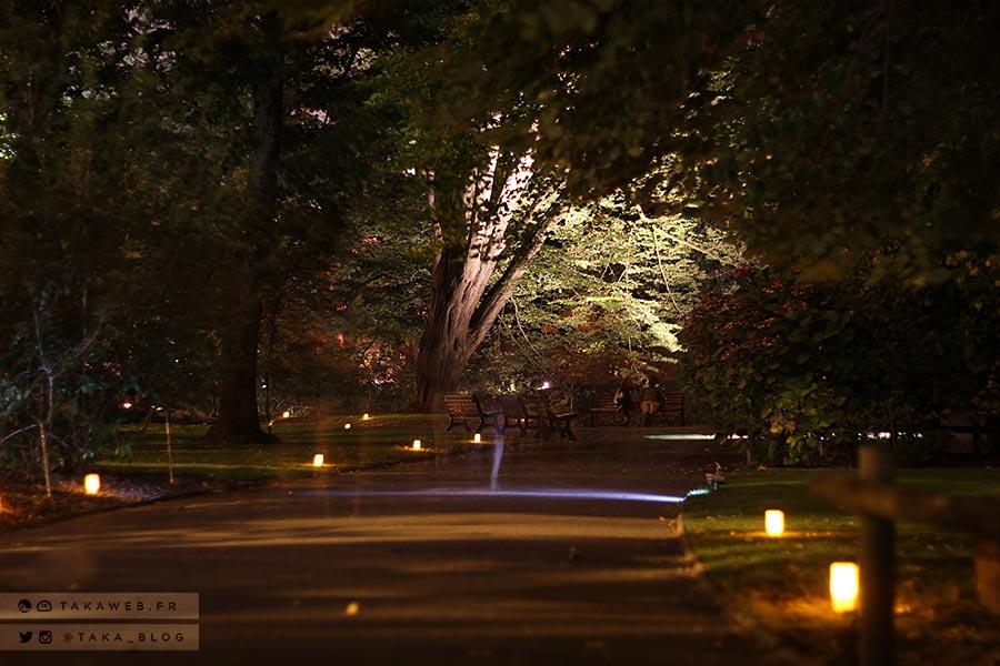 Emejing Jardin Des Plantes Nantes De Nuit Ideas - House Interior ...