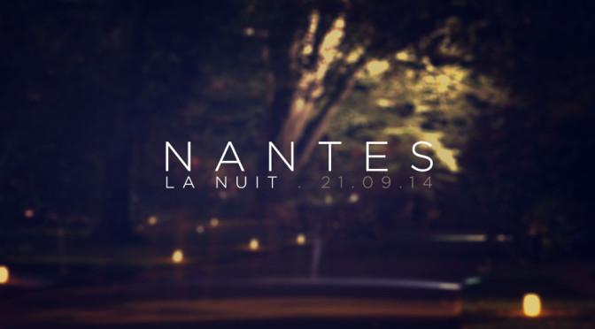 Nantes . La nuit / 21.09.2014 - Header