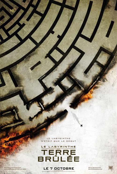 Le labyrinthe : La terre brûlée - 01