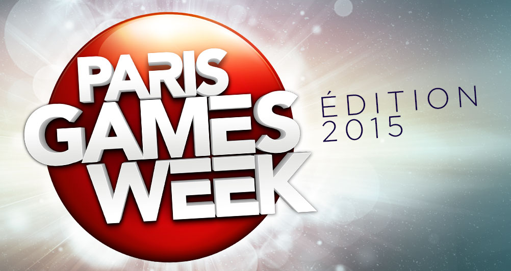 Paris Games Week 2015 - Header