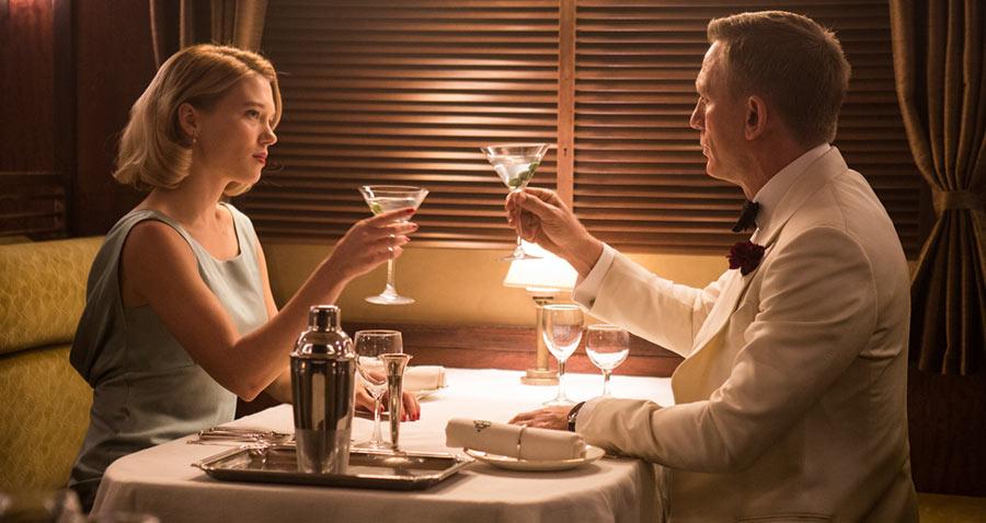 007 Spectre - Madeleine Swan & James Bond / Léa Seydoux & Daniel Craig