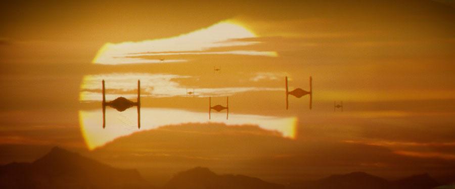 Star Wars VII Le Réveil de la Force - Tie Fighter