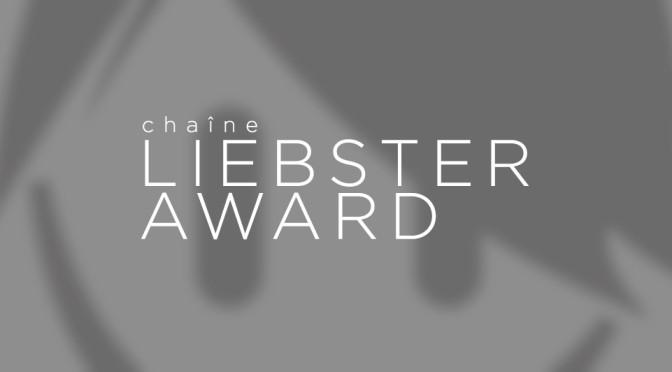 Liebster award - Header