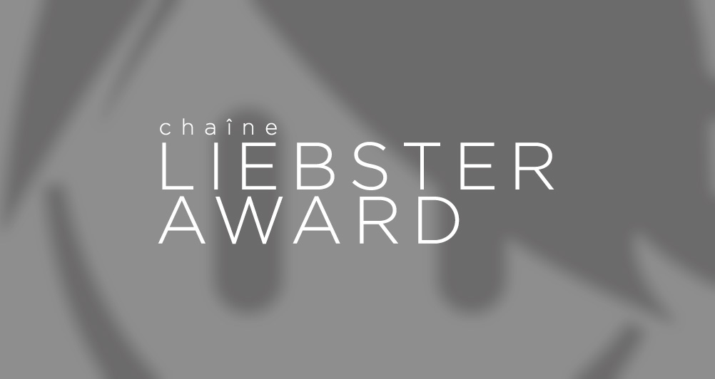Liebster award - Header