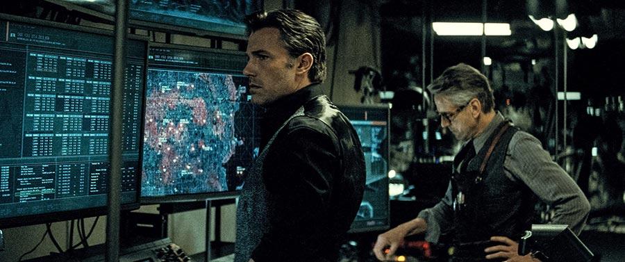 Batman v Superman Dawn of Justice - Bruce Wayne & Alfred / Ben Affleck & Jeremy Irons