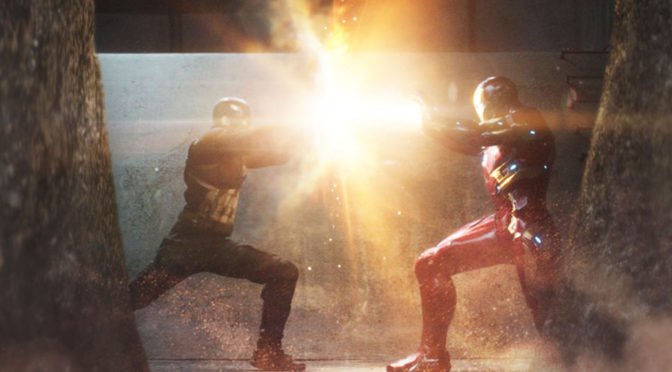 Captain America Civil War - Header