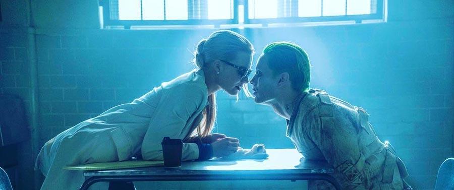 Suicide Squad - Dr. Harleen Quinzel aka Harley Quinn & Le Joker / Margot Robbie & Jared Leto