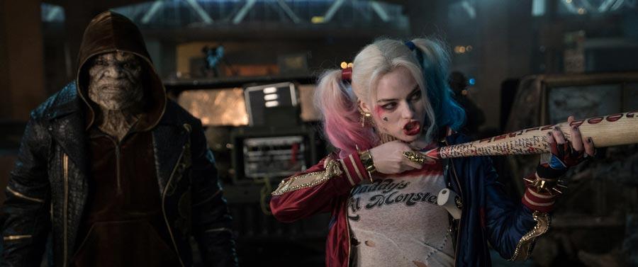 Suicide Squad - Killer Croc & Harley Quinn / Adewale Akinnuoye-Agbaje & Margot Robbie