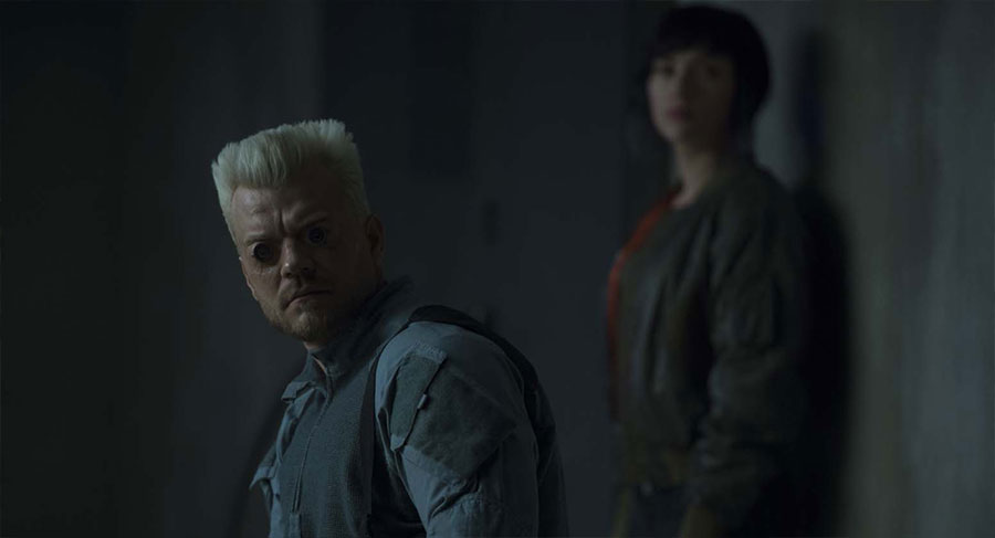Ghost in the Shell - Batou & le Major / Pilou Asbæk & Scarlett Johansson