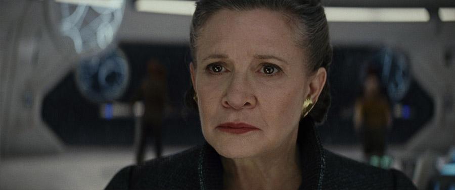Star Wars VIII Les derniers Jedi - Général Leia Organa / Carrie Fisher