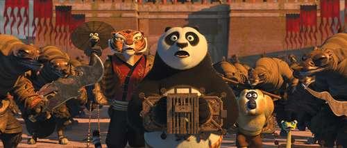 Kung Fu Panda 2 - Grue, Tigress, Po, Singe et Vipère / David Cross, Angelina Jolie, Jack Black, Jackie Chan & Lucy Liu
