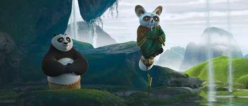 Kung Fu Panda 2 - Po & Maître Shifu / Jack Black & Dustin Hoffman