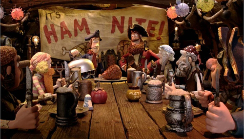 Les Pirates ! Bons à rien, Mauvais en tout - 02 - Pirate Captain / Hugh Grant