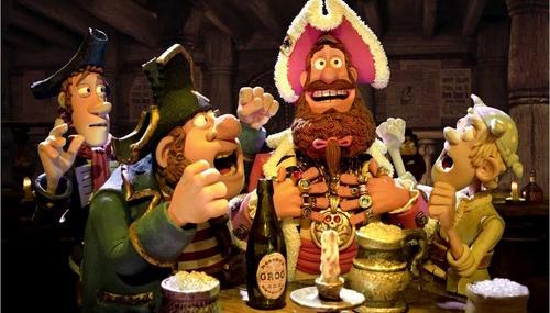 Les Pirates ! Bons à rien, Mauvais en tout - 03 - Pirate Captain / Hugh Grant